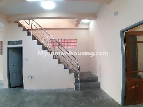 မြန်မာအိမ်ခြံမြေ - ငှားရန် property - No.4803 - တောင်ဥက္ကလာတွင် သုံးထပ်တိုက်ငှားရန် ရှိသည်။another view of ground floor