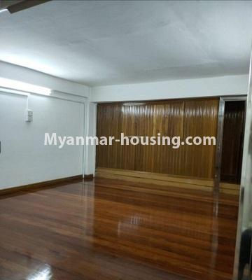 Myanmar real estate - for rent property - No.4805 - Ground floor with full attic for rent in Ahlone! - attic view