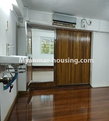Myanmar real estate - for rent property - No.4805 - Ground floor with full attic for rent in Ahlone! - bedroom view