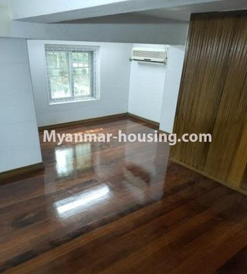 Myanmar real estate - for rent property - No.4805 - Ground floor with full attic for rent in Ahlone! - another view of attic