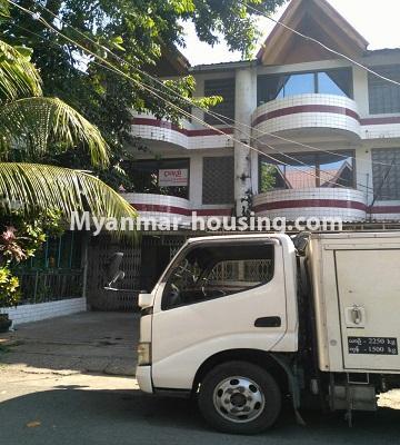 မြန်မာအိမ်ခြံမြေ - ငှားရန် property - No.4809 - ပုစွန်တောင် ညောင်တန်းအိမ်ရာထဲတွင်  Shop House ငှားရန် ရှိသည်။shop house view