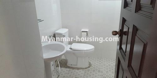Myanmar real estate - for rent property - No.4811 - Luxurious Pyay Garden Residential Room for rent in Sanchaung Township. - another bathrom view