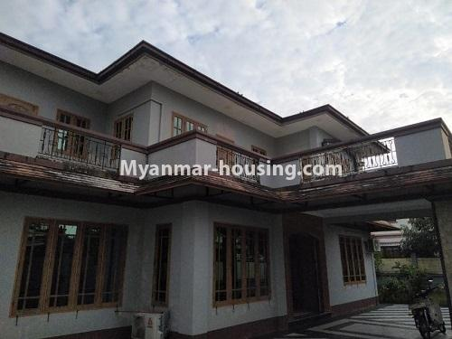 Myanmar real estate - for rent property - No.4823 - Two storey landed house for rent in Aung Chan Thar Housing, Thanlyin! - house view