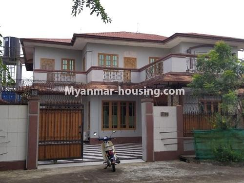 Myanmar real estate - for rent property - No.4823 - Two storey landed house for rent in Aung Chan Thar Housing, Thanlyin! - anohter view of the house