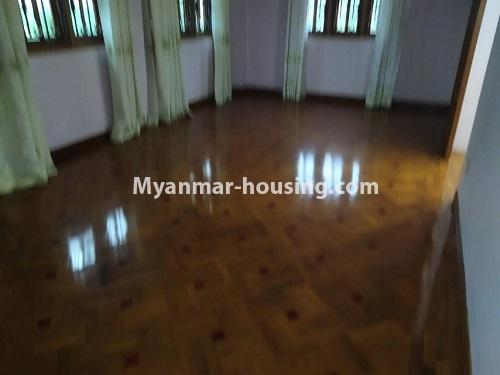 Myanmar real estate - for rent property - No.4823 - Two storey landed house for rent in Aung Chan Thar Housing, Thanlyin! - upstai