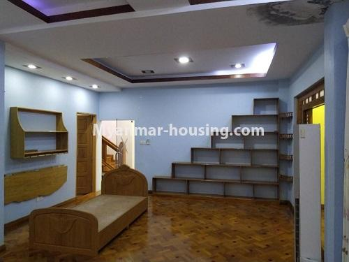 Myanmar real estate - for rent property - No.4823 - Two storey landed house for rent in Aung Chan Thar Housing, Thanlyin! - bedroom view