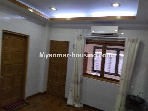 Myanmar real estate - for rent property - No.4823 - Two storey landed house for rent in Aung Chan Thar Housing, Thanlyin! - another bedroom view