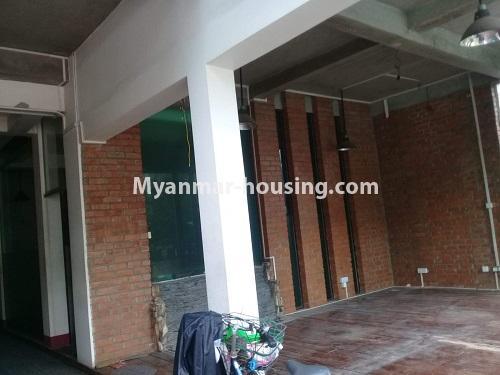 မြန်မာအိမ်ခြံမြေ - ငှားရန် property - No.4836 - တောင်ဥက္ကလာ သစ္စာလမ်းမပေါ် ၂ထပ်ဆိုင်ခန်း ငှားရန်ရှိသည်။another view of downstairs