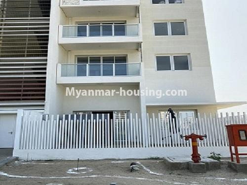 Myanmar real estate - for rent property - No.4844 - Star City Galaxy Tower Ground floor for rent, Thanlyin! - building ground floor view