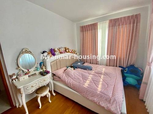 Myanmar real estate - for rent property - No.4844 - Star City Galaxy Tower Ground floor for rent, Thanlyin! - bedroom view