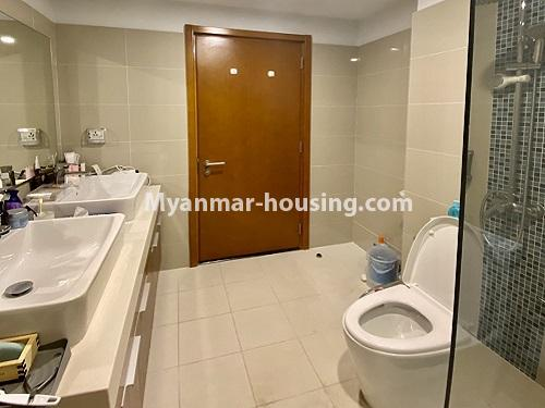 Myanmar real estate - for rent property - No.4844 - Star City Galaxy Tower Ground floor for rent, Thanlyin! - another bathroom view