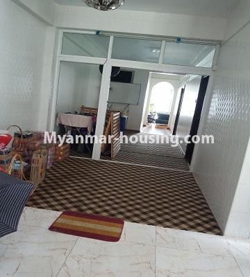 Myanmar real estate - for rent property - No.4846 - 2 BHK mini condominium room for rent near Hledan Junction, Kamaryut! - dining area view