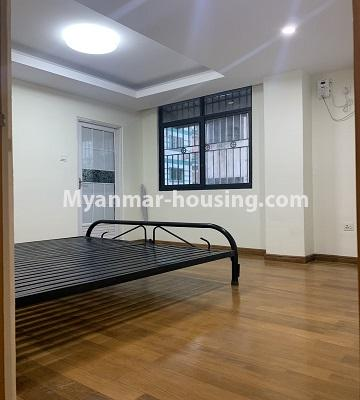 Myanmar real estate - for rent property - No.4847 - 2 BHK mini condominium room for rent in Kamaryut! - another bedroom view