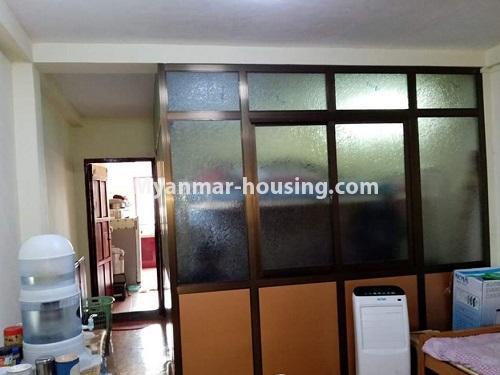 မြန်မာအိမ်ခြံမြေ - ငှားရန် property - No.4849 - ရန်ကုန် မြို့ထဲတွင် တိုက်ခန်းငှားရန် ရှိသည်။bedroom view