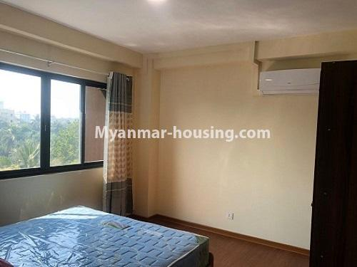 Myanmar real estate - for rent property - No.4884 - 2 BHK UBC condominium room for rent in Thin Gann Gyun! - bedroom view