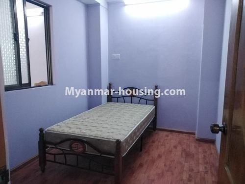 ミャンマー不動産 - 賃貸物件 - No.4886 - Yangon Downtown Furnished Condominium Room for Rent! - another bedroom view