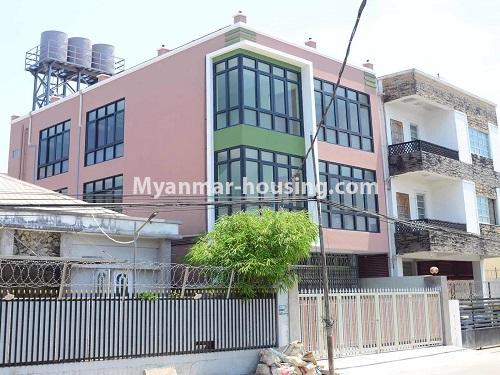 Myanmar real estate - for rent property - No.4890 - 3 RC House for rent in Aung Theikdi Street, Mayangone! - house view