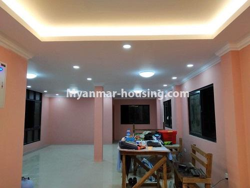 Myanmar real estate - for rent property - No.4890 - 3 RC House for rent in Aung Theikdi Street, Mayangone! - dining area view