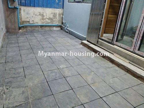 Myanmar real estate - for rent property - No.4890 - 3 RC House for rent in Aung Theikdi Street, Mayangone! - car parking view