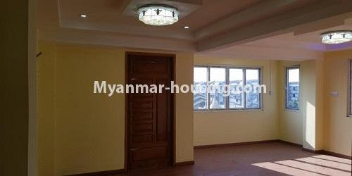Myanmar real estate - for rent property - No.4891 - 2BHK Mini Condo Room for rent on Baho road, Hlaing! - another view of living room