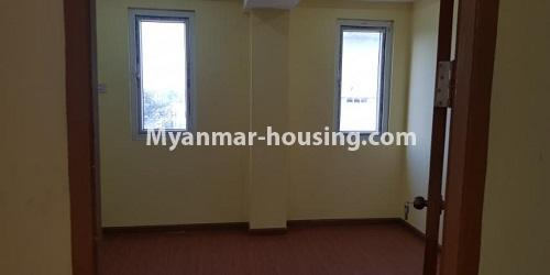 Myanmar real estate - for rent property - No.4891 - 2BHK Mini Condo Room for rent on Baho road, Hlaing! - bedroom view
