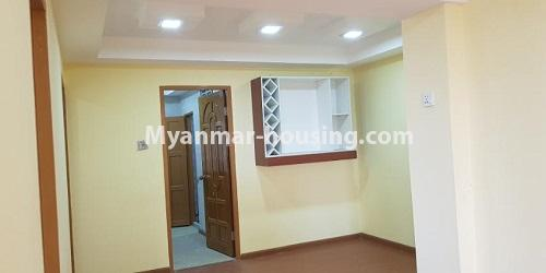 Myanmar real estate - for rent property - No.4891 - 2BHK Mini Condo Room for rent on Baho road, Hlaing! - dining area view