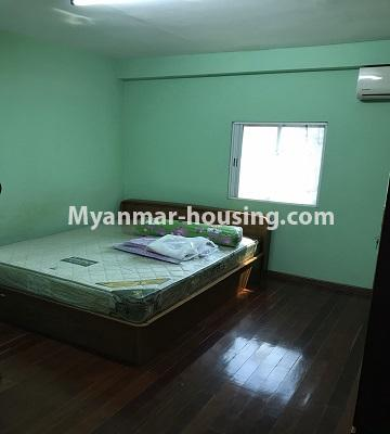 Myanmar real estate - for rent property - No.4893 - Second Floor 2 BHK Apartment Room for rent in Yakin! - bedroom view