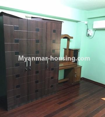 Myanmar real estate - for rent property - No.4893 - Second Floor 2 BHK Apartment Room for rent in Yakin! - another bedroom view