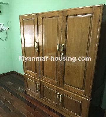 Myanmar real estate - for rent property - No.4893 - Second Floor 2 BHK Apartment Room for rent in Yakin! - wardrobe view