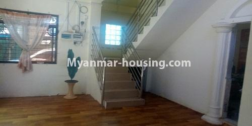 Myanmar real estate - for rent property - No.4896 - Landed house for rent in Parami Yeik Thar, Yankin! - downstairs view