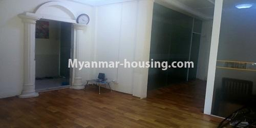 Myanmar real estate - for rent property - No.4896 - Landed house for rent in Parami Yeik Thar, Yankin! - another view of downstairs