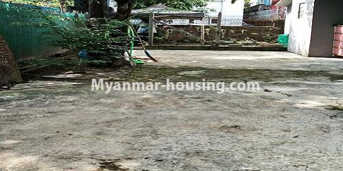 Myanmar real estate - for rent property - No.4896 - Landed house for rent in Parami Yeik Thar, Yankin! - car parking view