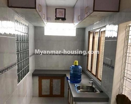 Myanmar real estate - for rent property - No.4913 - 6BHK Two RC Landed House for Rent near Kabaraye Pagoda Road, Bahan! - kitchen view