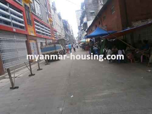 မြန်မာအိမ်ခြံမြေ - ရောင်းမည် property - No.2858 - N/A - View of the street.