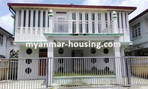 မြန်မာအိမ်ခြံမြေ - ရောင်းမည် property - No.3013 - F.M.I City တွင်လုံးချင်းအိမ် ရောင်းရန်ရှိသည်။  - View of the Building