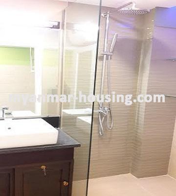 မြန်မာအိမ်ခြံမြေ - ရောင်းမည် property - No.3023 - အခန်းကောင်းတစ်ခန်းကျောက်တံတားတွင်ရောင်းရန်ရှိသည်။ - View of the wash room.