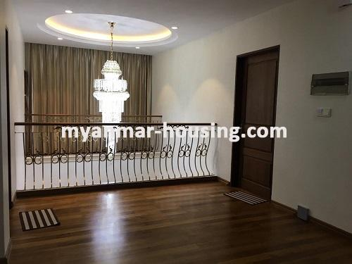 Myanmar real estate - for sale property - No.3025 - Three storey Landed House for sale in Hlaing Township. - View of the room