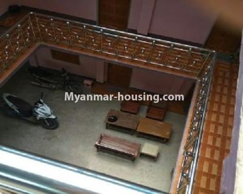 Myanmar real estate - for sale property - No.3110 - Three Storey Landed House for sale in Bagan City. - view of the living