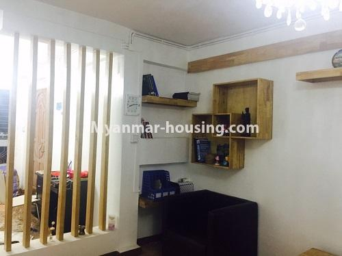 Myanmar real estate - for sale property - No.3116 - An apartment for sale in Pazundaung! - bedroom