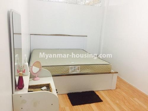 Myanmar real estate - for sale property - No.3116 - An apartment for sale in Pazundaung! - bedroom view