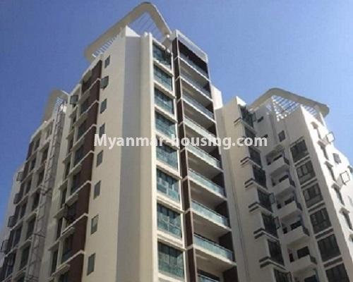 ミャンマー不動産 - 売り物件 - No.3119 - Nice condo room with two bedrooms for sale in Malikha Condo! - building view