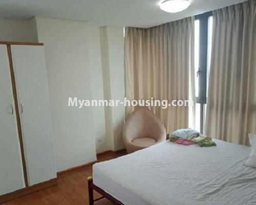 ミャンマー不動産 - 売り物件 - No.3119 - Nice condo room with two bedrooms for sale in Malikha Condo! - master bedroom