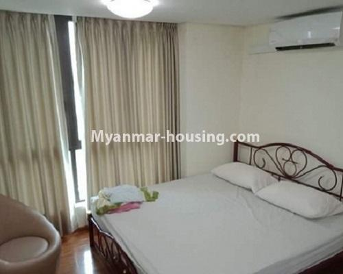 ミャンマー不動産 - 売り物件 - No.3119 - Nice condo room with two bedrooms for sale in Malikha Condo! - master bedoom