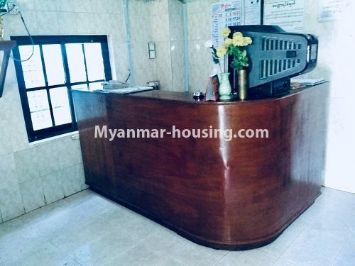 မြန်မာအိမ်ခြံမြေ - ရောင်းမည် property - No.3132 - လှိုင်သာယာ န၀ဒေး ဥယျာဉ်အိမ်ယာ အပြင်ဘက်တွင် ဧည့်ရိပ်သာတစ်လုံး ရောင်းရန်ရှိသည်။ - reception