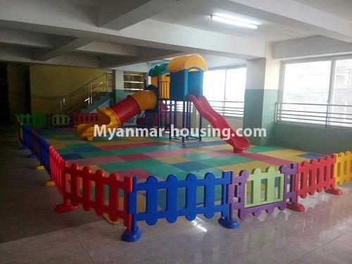Myanmar real estate - for sale property - No.3142 - Condo room for sale in Botahtaung! - playground