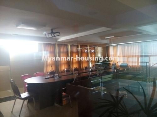 Myanmar real estate - for sale property - No.3142 - Condo room for sale in Botahtaung! - meeting