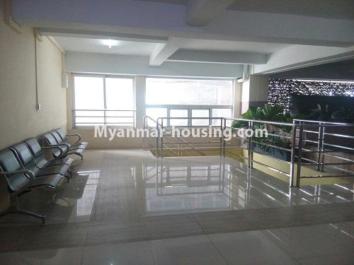 Myanmar real estate - for sale property - No.3142 - Condo room for sale in Botahtaung! - lobby