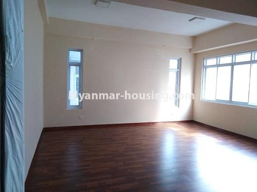 Myanmar real estate - for sale property - No.3154 - New condo room for sale in Pazundaung! - bedroom