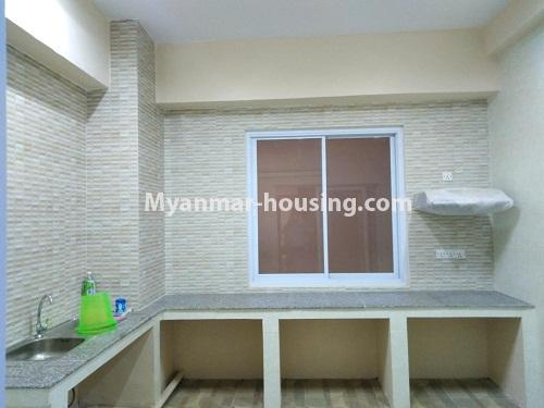 Myanmar real estate - for sale property - No.3154 - New condo room for sale in Pazundaung! - kitchen