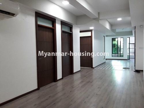 မြန်မာအိမ်ခြံမြေ - ရောင်းမည် property - No.3173 - လှိုင်မြို့နယ် လမင်း Luxury Condo တွင် ပြင်ဆင်ပြီး အခန်းတစ်ခန်း ရောင်းရန်ရှိသည်။ - corridor view